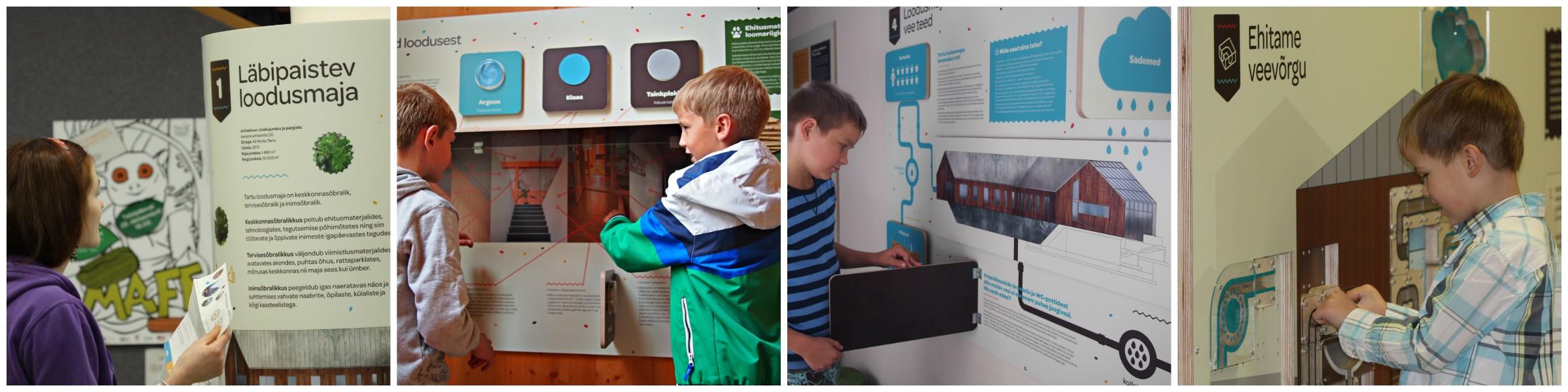 keskkonnasõbralik loodusmaja näitus ehitus